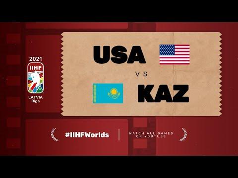 Highlights: USA vs KAZAKHSTAN | 2021 #IIHFWorlds