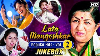 Lata Mangeshkar Popular Hits | VOL-2 | Best Of Lata Mangeshkar | Kabootar Ja Ja Ja | Jukebox