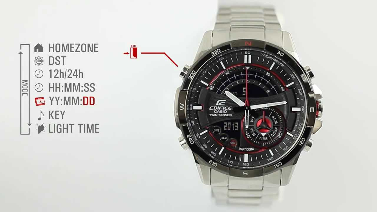 5dabd65b4504 Tutorial Video - ERA-200 - General Setting. CASIO EDIFICE Europe