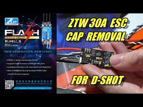 ZTW 30a ESC First Look & Signal Cap Removal