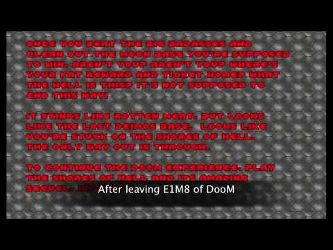 DooM II music - Background music of the TEXT SCREENS (OPL)