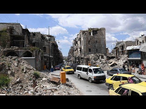 War-torn Syria shows signs of rebuilding