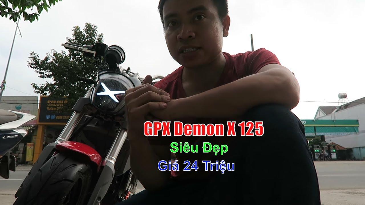 Moto Gpx Demon X 125cc  Siêu Đẹp Giá Rẻ Nhập Khẩu Thái Lan | Thắng Biker