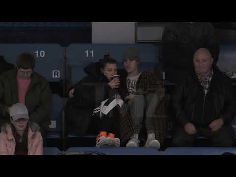 Justin Bieber - Hailey Baldwin, November 23, 2018 at Stratford Hockey Game