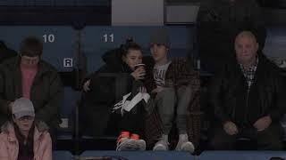Justin Bieber - Hailey Baldwin, November 23, 2018 at Stratford Hockey Game
