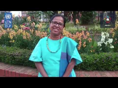 AKID2030 - Message de solidarité de Mme Ayshanie Medagangoda Labe