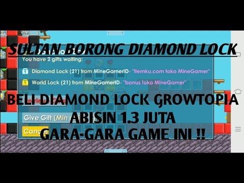 download SULTAN BORONG DIAMOND LOCK ITEMKU - GROWTOPIA INDONESIA