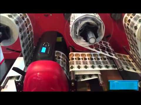 Digital Label plotter with waste removal-shanghai printpack