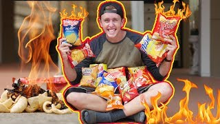 Chips are flammable?!! Which ones are the MOST flammable?!
