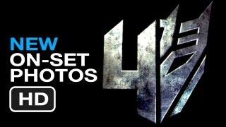 Transformers 4 - New On Set Photos (2014) - Mark Wahlberg Movie HD
