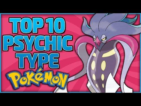 Top 10 Psychic Type Pokémon