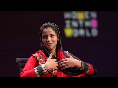 Meet Afghanistan's youngest female rapper, Sonita Alizadeh