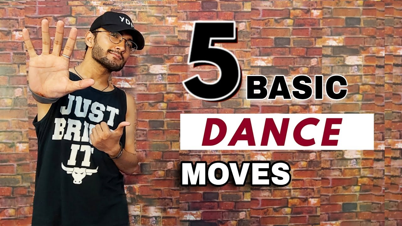 5 Basic Dance/Hip Hop Moves For Beginners | Part 1