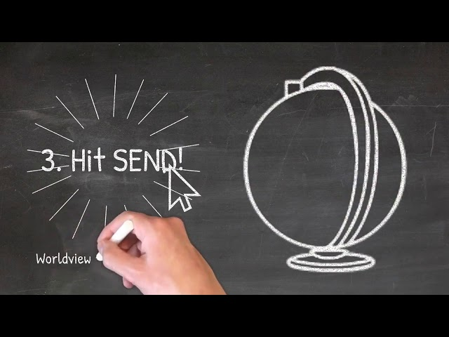 Email Marketing Services Blackboard Doodle Explainer Animation Video Example