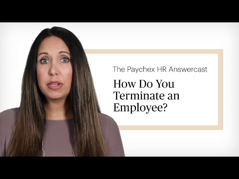 HR Answercast: How Do You Terminate An Employee?