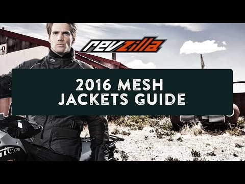 2016 Mesh Motorcycle Jackets Buying Guide at RevZilla.com