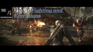 The Witcher 3 Swordplay and Executions Montage