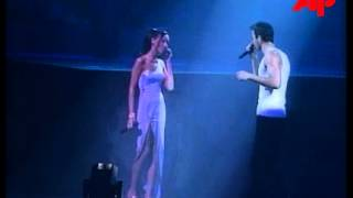 "Alsu (Alsou) & Enrique Iglesias  ""You`re my number one"" Live 2000"