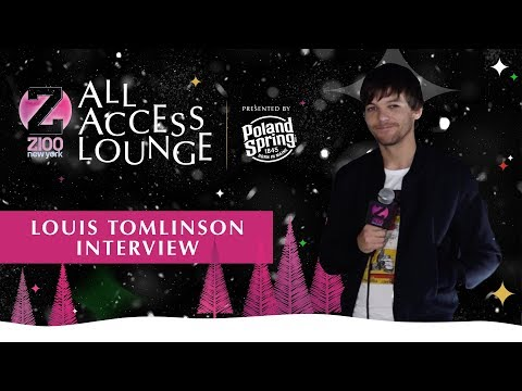Z100's Jingle Ball - Louis Tomlinson Revealed His Holiday Plans