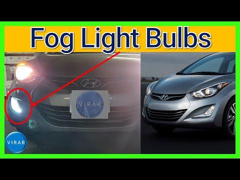 How to Replace Fog Light Bulbs – Hyundai Elantra (2011-2016)