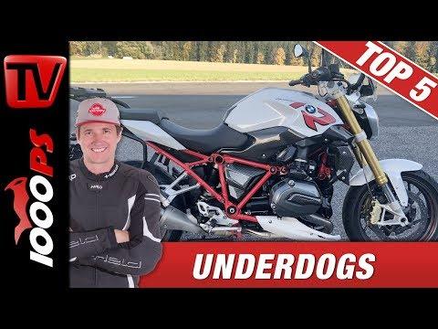 Top 5 Underdogs - Motorräder die viel leiwander fahren als Du denkst