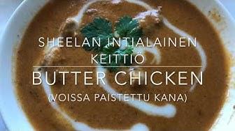 Intialainen Butter chicken (3 annos)