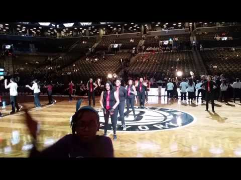 AOS Live at Barclay Center at Nets Game 12/5/14