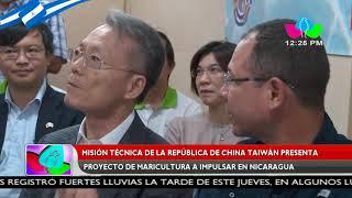 Misión técnica de China Taiwán presenta proyecto de maricultura a impulsar en Nicaragua
