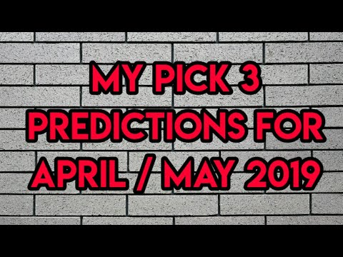 Repeat PICK 3 LOTTERY PREDICTIONS - APRIL / MAY by Play Life