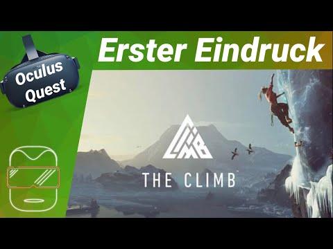 Oculus Quest [deutsch] The Climb: Erster Eindruck | Review [Oculus Quest Spiele deutsch]
