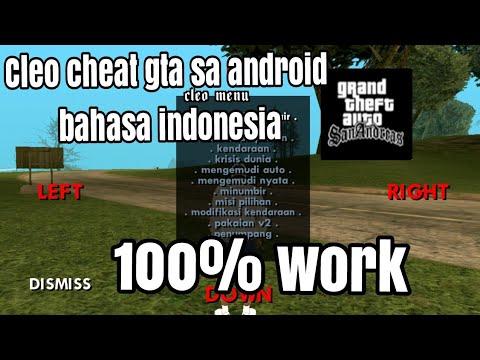 Cara Download Dan Pasang Cleo Cheat Bahasa Indonesia Di GTA SA Android|NO ROOT