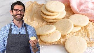 Easy No Spread Sugar Cookies