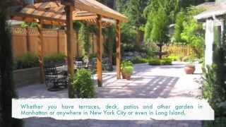 New York Plantings Garden And Landscape Construction  Ipe Hardwood Deck Refinishing
