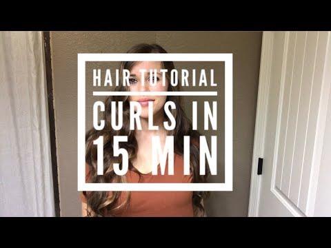 Hair Tutorial: Curls in 15 min