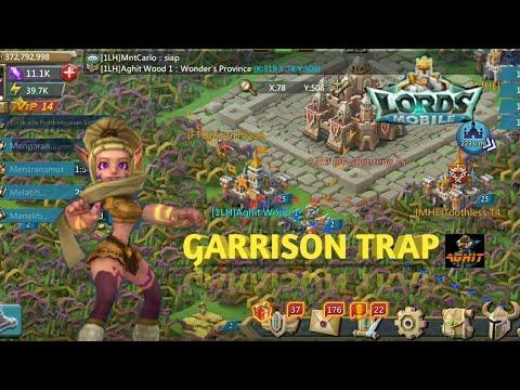 KVK Garrison Trap -Lords Mobile