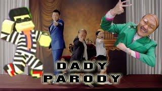 PSY - DADDY PARODY MUSIC VIDEO (Little PSY NIKO MIX minecraft