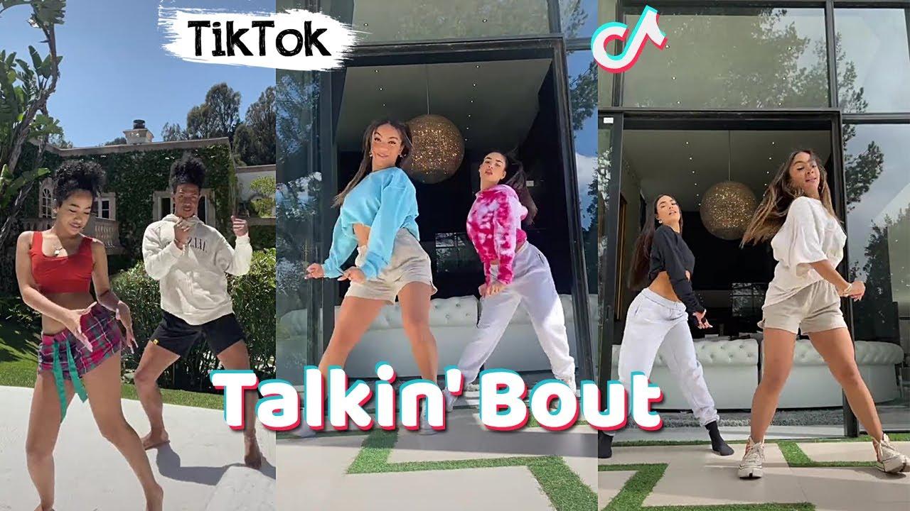 Talkin' Bout TikTok Dance Challenge Compilation (Dc: @4abeyy)