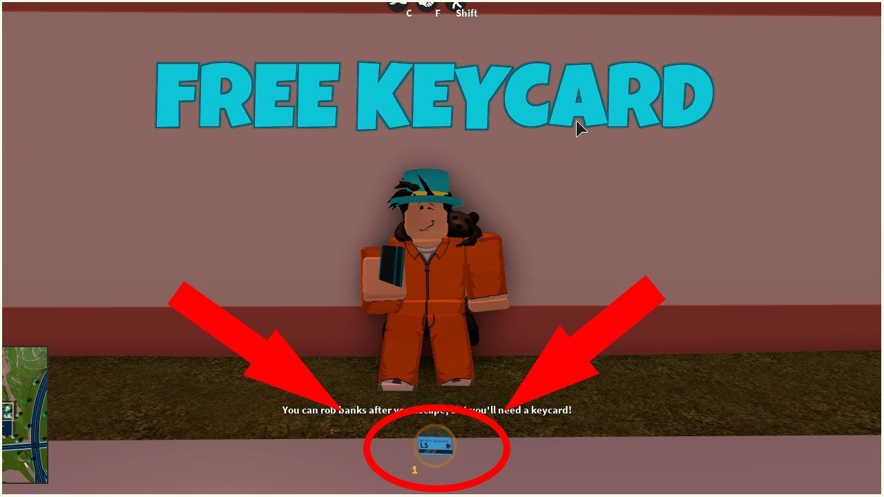 Roblox Jailbreak How To Get Keycard By Yourself No Friends Youtube