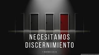 Necesitamos Discernimiento