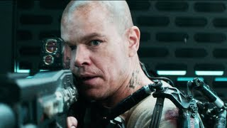 Elysium Trailer #2 2013 Official - Matt Damon Movie [HD]