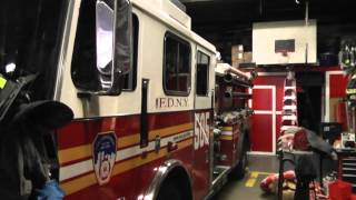 visit new york city fire department Engine 54-Ladder 4/128-Battalion 9 Part  PART 2