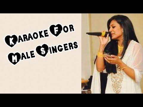 Oday Oday - Raja Rani Karaoke For Male Singers