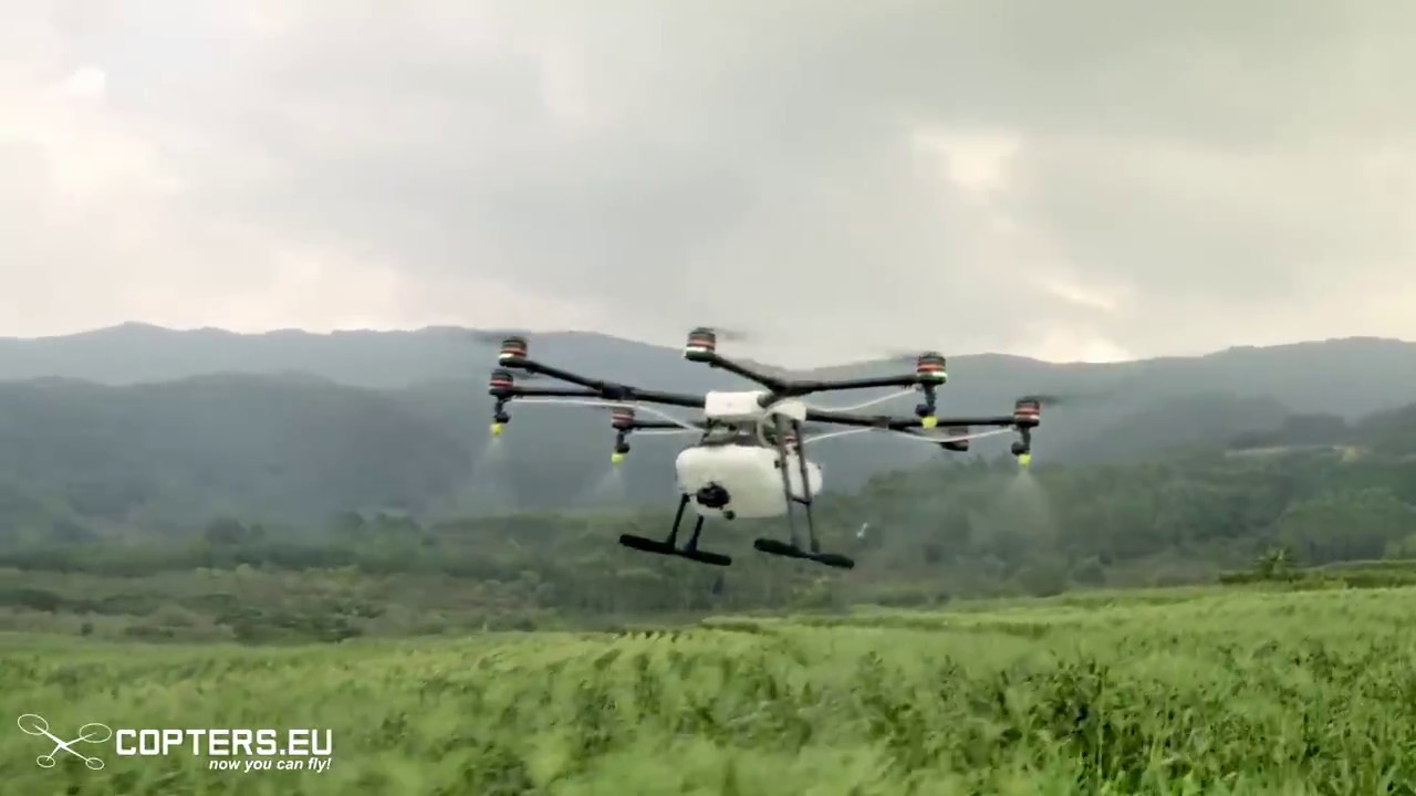 Introducing the DJI Agras MG-1 Agriculture Drone – Part 2 | COPTERS EU