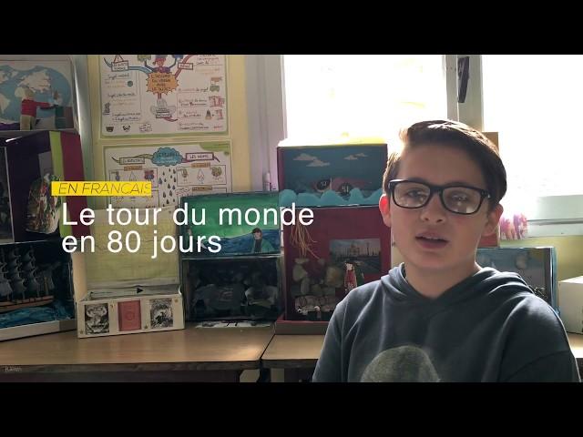 Le tour du monde en 80 jours par les élèves de 6ème