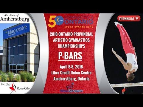 Friday - P-Bars (Men's) - 2018 Ontario Championships - M.A.G.