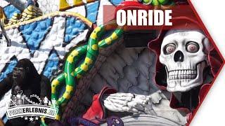 NEU 2019: Geisterbahn im Skyline Park - Geisterschlange - Mitfahr-Video (POV OnRide)
