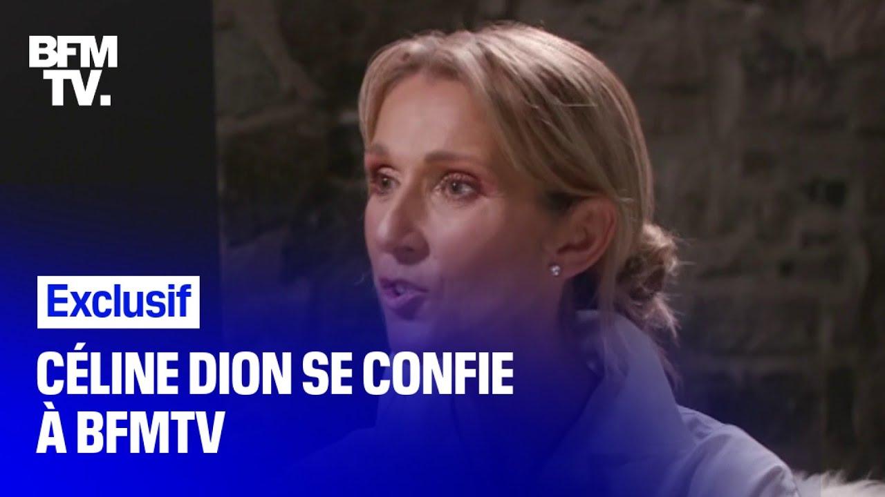 Lors d'un entretien exclusif, Céline Dion s'est confiée à BFMTV