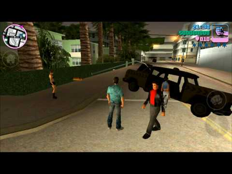 Can i run grand theft auto vice city cheats android phone