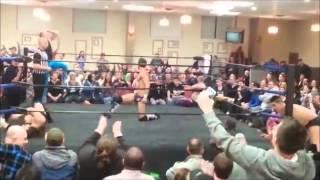 Handspring Cutter to Shane Sabre C4 Wrestling