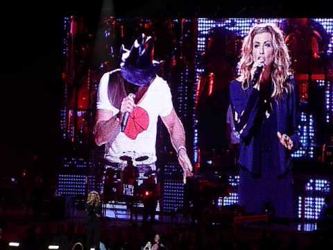 Tim McGraw and Faith Hill Duet - Angry all the time - 21 March 2012